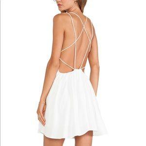 Keepsake white dress XS